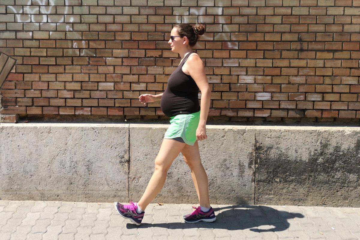 Futás a harmadik trimeszterben - Futásról Nőknek