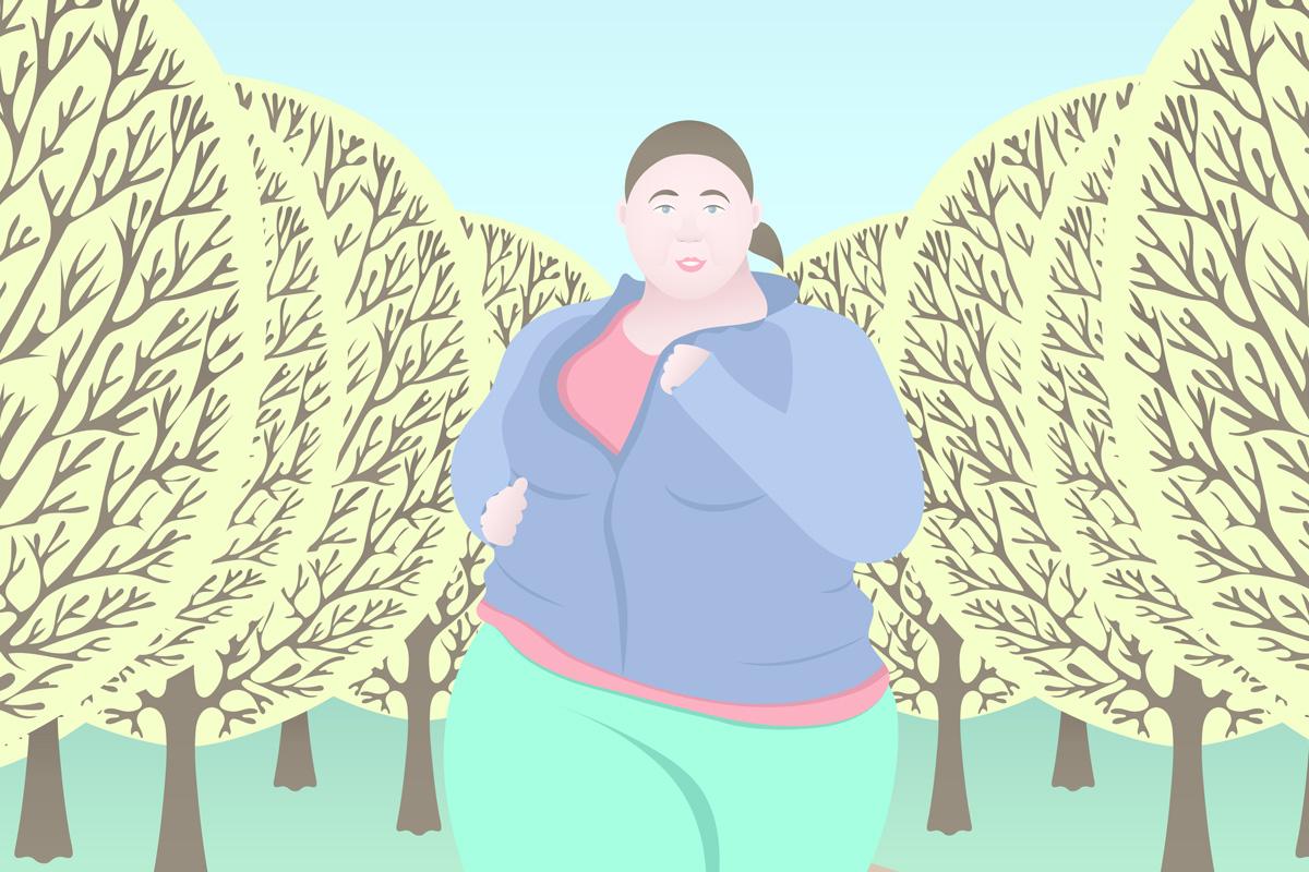A túlsúlyos futó dicsérete - Futásról Nőknek