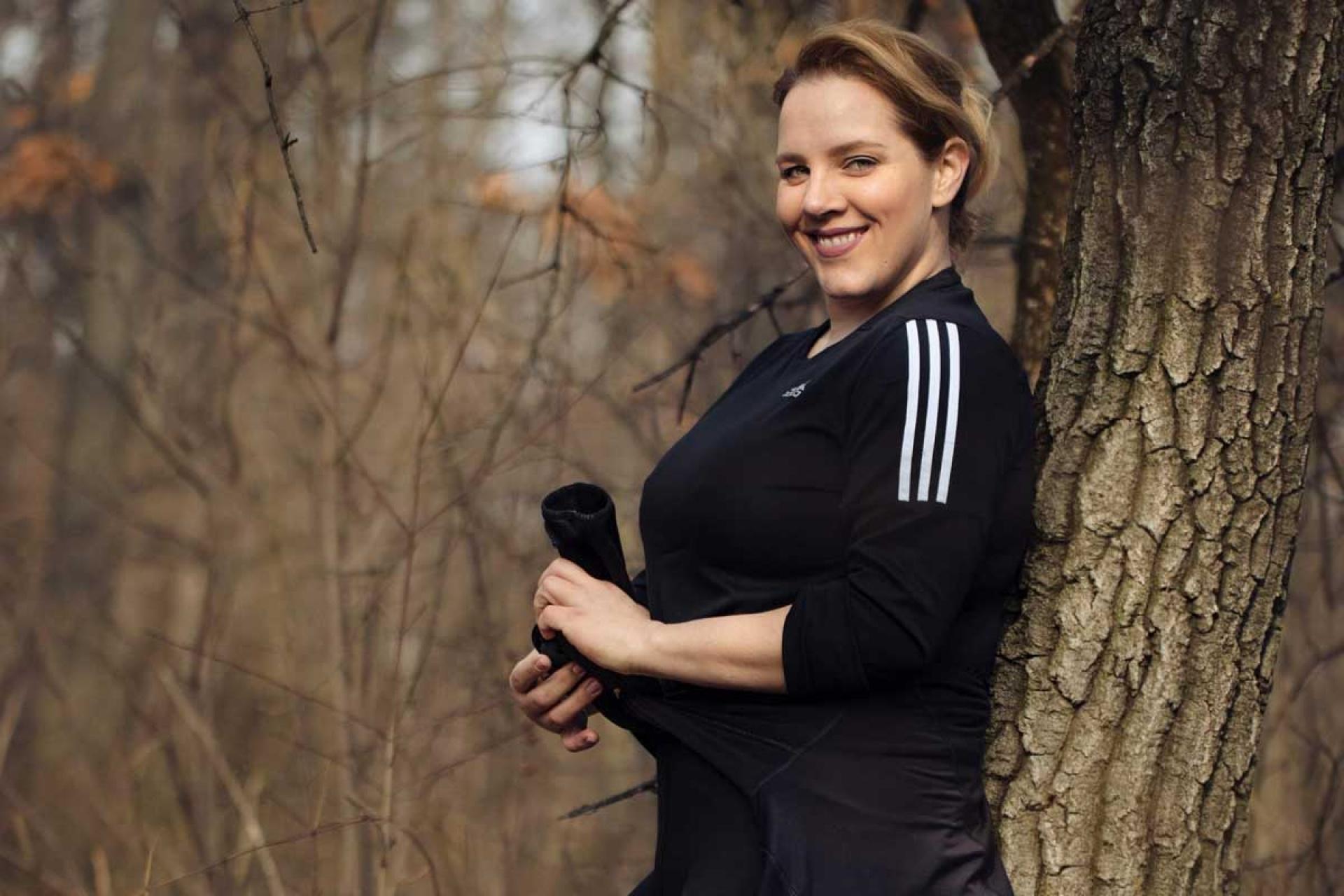 """Tóth Vera: """"A futás segít erős kapcsolatot kialakítani a.."""